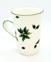 Mikasa Holiday Holly French Countryside F 9012 Cappucino Coffee Cup Mug EUC - $12.59