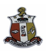 Kappa Alpha Psi - 10.5in Chenille Embroidered Shield Patch (Iron on) - £21.72 GBP