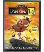 The Lion King 1 1/2 DVD 2-Disc Canada Ltd Edition Collection Widescreen ... - $29.95