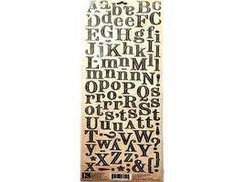 K&Company ancestry.com Die-Cut Alphabet Stickers #570115 image 2