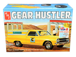 """Skill 2 Model Kit 1965 Chevrolet El Camino """"Gear Hustler"""" Pickup 1/25 Sc... - $51.29"""