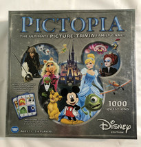 Pictopia Ultimate Picture Trivia Disney Family Game Edition 2-6 Players.... - $9.74