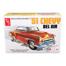 Skill 2 Model Kit 1951 Chevrolet Bel Air 2-in-1 Kit Retro Deluxe Edition 1/25... - $42.08