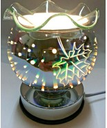 Electric Touch Fragrance Lamp/Oil Burner/Wax Warmer/Night Light with 3D ... - $25.73
