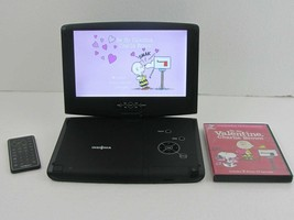 """Insignia Portable Rechargeable 10"""" DVD Player NS-PDVD10 W/ Remote + Movie - $49.00"""