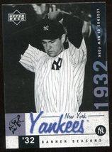 2001 Upper Deck Legends of New York #138 Lefty Grove - $3.00