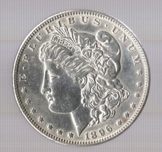 1896 Morgan Silver Dollar - $49.00