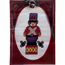 Christmas Ornament Counted Cross Stitch Kit Holiday New Berlin Co 2930 c... - $10.99