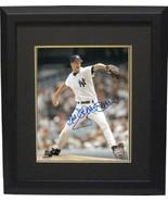 "Jack McDowell signed New York Yankees 8x10 Photo Custom Framed ""Black"" - $79.00"
