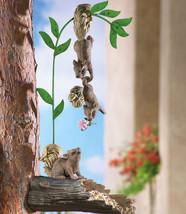 Set Of 3 Hanging Squirrels Tree Bid Feeder - $21.95