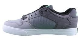 Supra Homme Vaider Bas Décoloré Gris/Blanc Nylon Skateboard Shoes Basket S36042 image 4