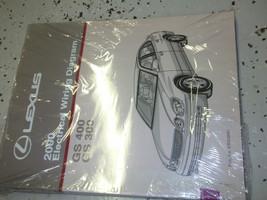 2000 Lexus GS300 GS400 400 Electrical Wiring Diagram Service Shop Manual... - $137.61