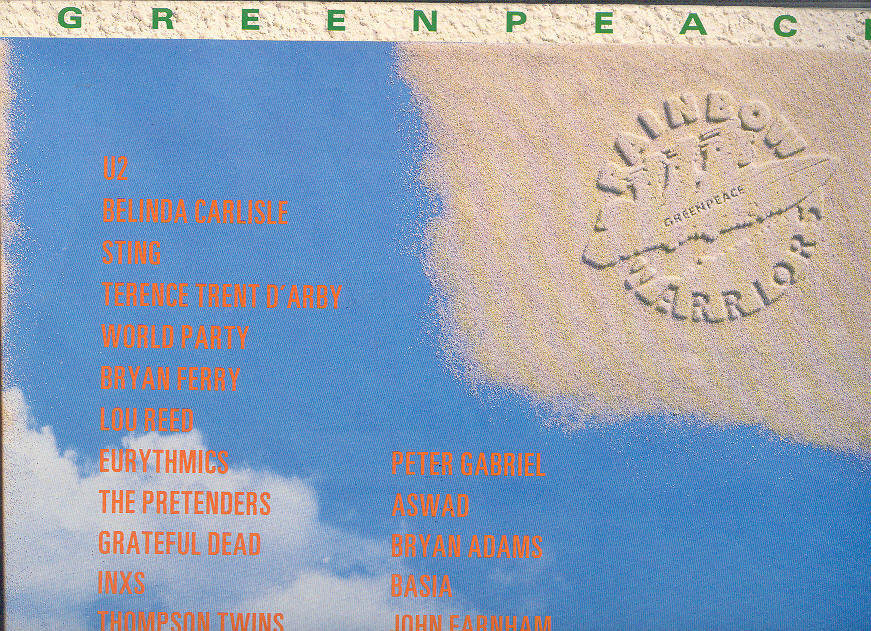 Primary image for GREENPEACE Rainbow Warriors double LP compilation