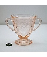 Royal Lace Pink Sugar Bowl Hazel Atlas - $13.95