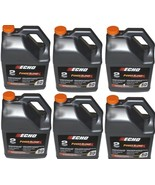 6450050 (6)Pack Echo One Gallon Bottles 2 Cycle Engine Oil Mix Power Ble... - $269.99