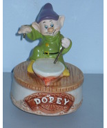 Vintage Disney Snow White & The Seven Dwarfs Dopey Music Box - $47.99