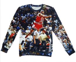 New Jordan hoodies men/women print 3d sweatshirt punk sportswear tops  - $29.90