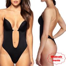 NINGMI Party Dress Bodysuit Underwear Women Body Shaper Slips Backless B... - $40.00