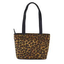 Donna Sharp Large leopard Abby Handbag - $29.00