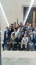 Vintage June 1972 Framed Group Photograph US Attorney Courthouse Lawyer Legal image 3