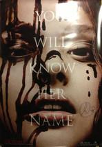 "Signed Chloe Grace Moretz 27"" x 40"" CARRIE Original Movie Poster - Celeb... - $565.25"
