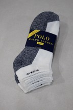 Polo Ralph Lauren Men's 4 Pairs Classic Cotton Sport No-Show Socks 10-13 - $16.82