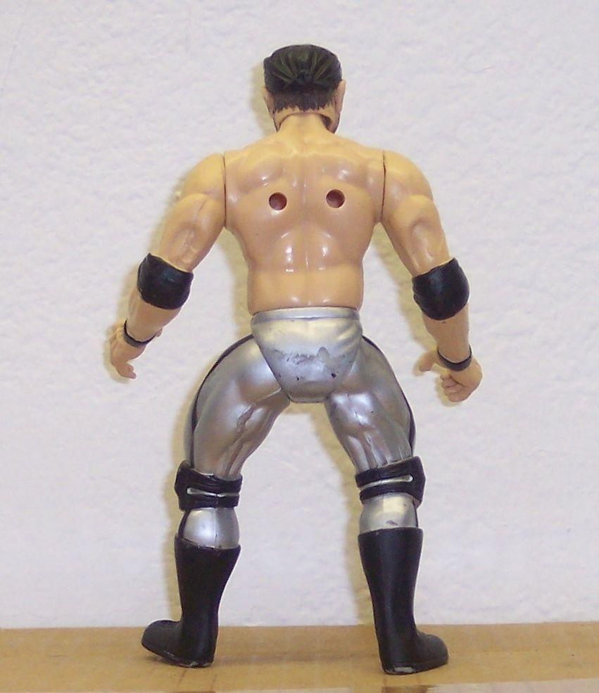 """Marc Mero"" 1997 Jakk's Pacific S.T.O.M.P. 6"" Action Figure WWE WWF WCW [1703]"