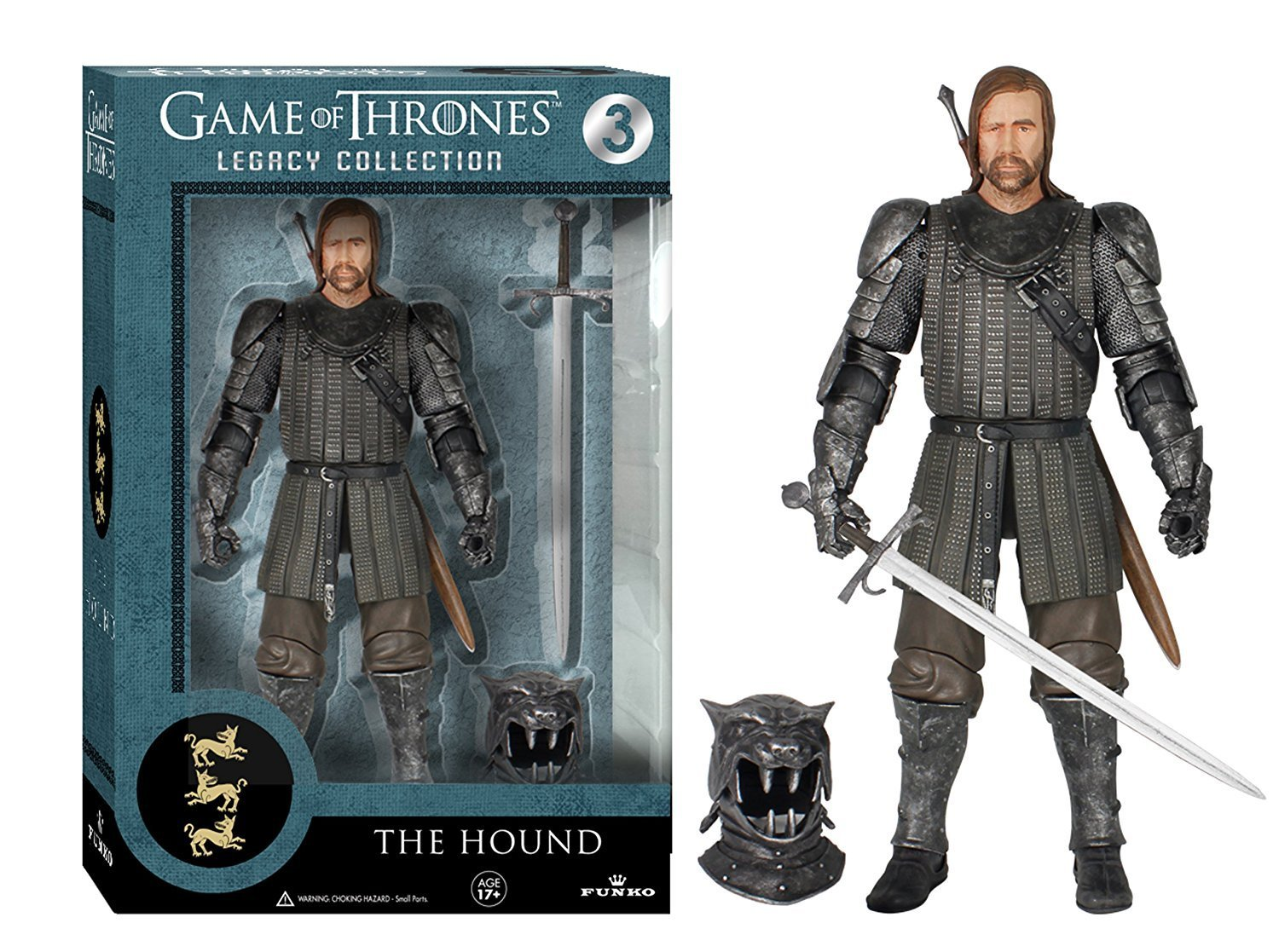 Official Funko Legacy Collection Action Figure 6'' TV: Game of Thrones - The Hou