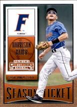 Harrison Bader 2015 Panini Contenders Season Ticket Card #46 - $0.99