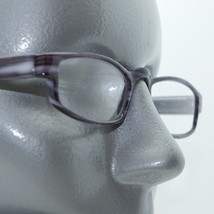 Wide Reading Glasses +1.25 Lens Purple Swirl Statement Drama Frame - $17.00