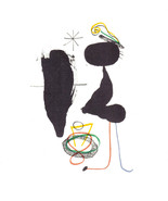 MIRO LITHOGRAPH +COA unique gift Joan Miró 1972 litógrafo RARE VINTAGE A... - $130.61