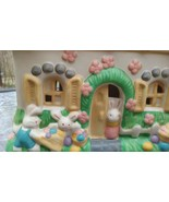Pacific Rim  Item 9009 Electrical Earthenware Easter Bunny House - $12.00