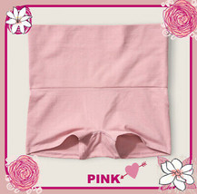 L Pink Compression Waist Seamless Shape Victorias Secret Boyshort Brief ... - $14.99