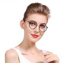 Reading Glasses Women Round Circle Vintage Professor Oval Lens - $18.79