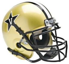 Vanderbilt Commodores Schutt Authentic Gold Mini Helmet - $19.95