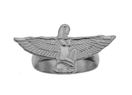 Sterling Silver Isis Ancient Egyptian Goddess Health Marriage Wisdom Egy... - $29.97