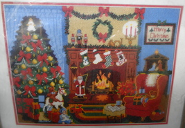 Christmas Eve Dimensions Needlework Sunset Kit 6080 Beth Reinstra 1978 - $75.00