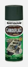 Rust-Oleum Specialty CAMOUFLAGE 12 oz Spray Flat DEEP FOREST GREEN Sport... - $14.99