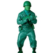 TOY STORY GREEN ARMY GUY WITH HELMET PLUS SIZE 50-52 - $35.00