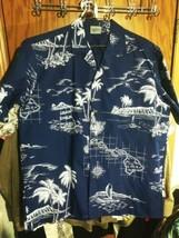 Royal Creations Hawaiian Mens Large Shirt - $23.20