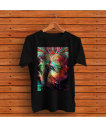 DMT Trippy Psychedelic art T-Shirt Black - $14.99+