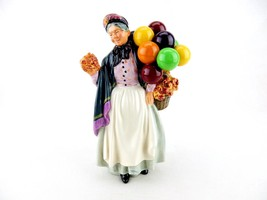 Biddy Penny Farthing ~ Royal Doulton Figurine #HN1843, Balloons & Flower... - $146.95