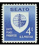 1960 4c SEATO, Southeast Asia Treaty Organizati... - $0.99