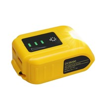 Usb Battery Adapter Dcb090 Compatible With Dewalt 20V Lithium-Ion Batt - $40.99