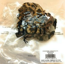 NOIR Ombre Leopard Scrunchies NEW IN SEALED BAG 3 Pack - $9.50