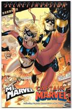 Captain Marvel Ms Marvel Secret Invasion Infilitration #0 NM- 2008 Comic... - $6.82