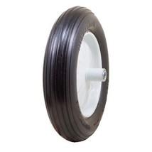"Marathon 4.80/4.00-8"" Flat Free Wheelbarrow Tire on Wheel, 6"" Centered H... - $36.11"