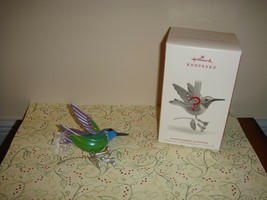 Hallmark 2018 Hummingbird Surprise Repaint Beauty Of Birds 10th Ornament - $19.99