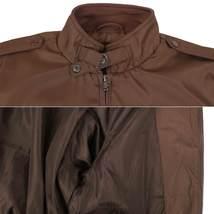 Men's Athletic Lightweight Water Resistant Slim Fit Racer Jacket image 13