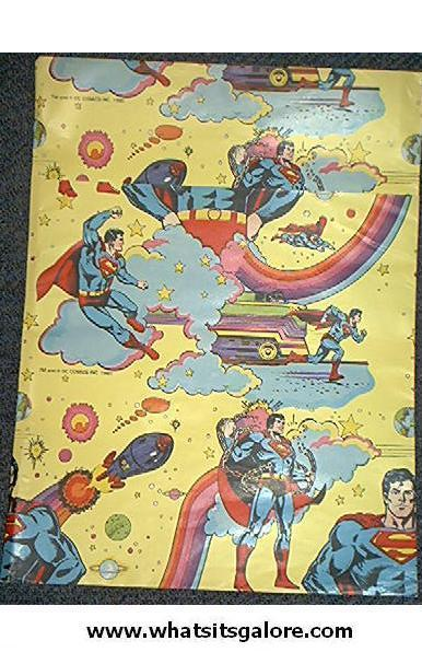 superman wrapping paper Dress up your birthday and holiday gifts with hallmark gift wrap choose from wrapping paper, gift bags, bows, ribbons, tags and tissue to make your gifts shine.